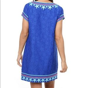 5435b47b4c6 Vineyard Vines Dresses - Vineyard Vines Starfish Embroidered Tunic Dress